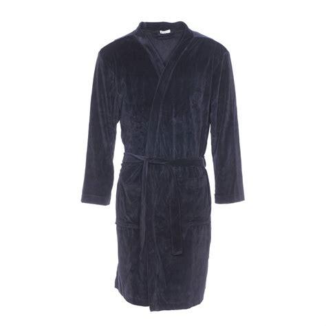 robe de chambre velours robe de chambre eminence en velours noir rue des hommes