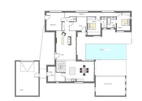 construire sa chambre plan maison design cool plan maison bois moderne