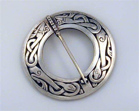 Celtic, circle brooch pin. ? Metamorphosis Jewelry