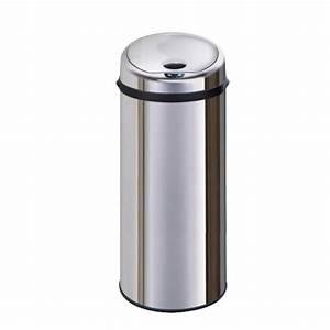 Poubelle Automatique Pas Cher : poubelle automatique 50l achat vente poubelle ~ Dailycaller-alerts.com Idées de Décoration