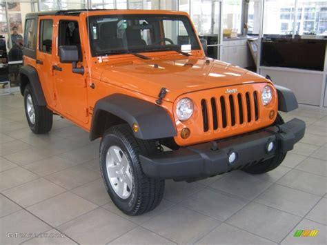 jeep wrangler orange crush crush orange 2012 jeep wrangler unlimited sport s 4x4