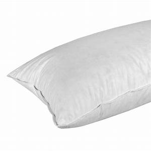 Duck feather and down continental pillow 100 cotton for 100 duck down pillows