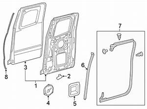 Toyota Tacoma Door Shell  Access Cab  Right  Rear  Components  Body