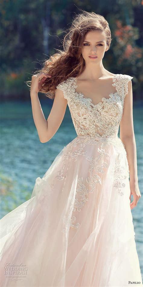 blush colored wedding gowns best 25 blush wedding dresses ideas on blush