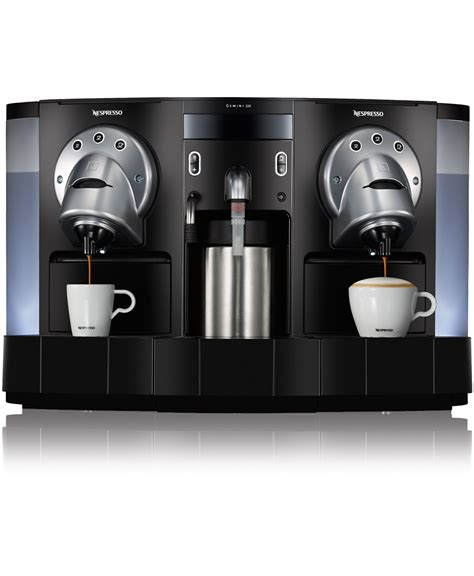 Nespresso Gemini by Gemini Cs223 Coffee Machine Nespresso Business Solution