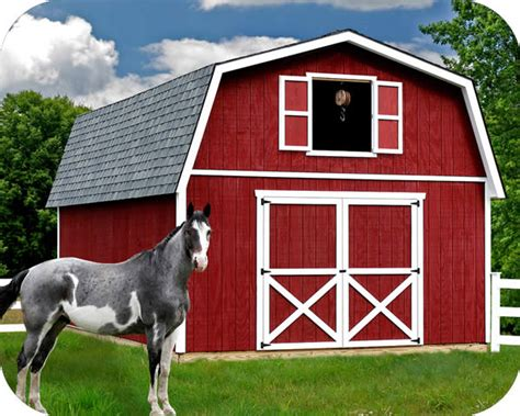 Best Barns Roanoke 16x32 Wood Storage Shed Kit