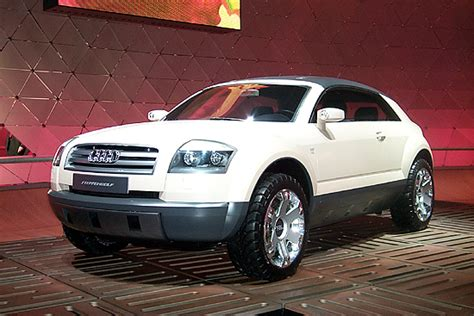 Image Audi Steppenwolf Concept, 2001 Detroit Auto Show