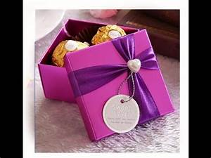 Origami candy box Easy Great ideas for Gift wrapping