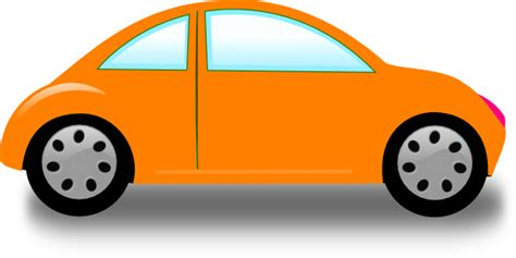 Orange Car Clip Art At Clkercom  Vector Clip Art Online
