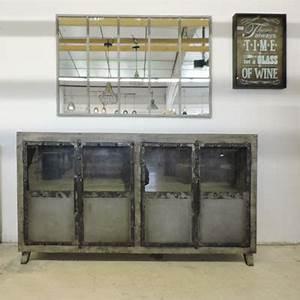 Buffet Industriel Ikea : latest buffet style industriel collection phoenix mtal u bois with buffet vaisselier style ~ Teatrodelosmanantiales.com Idées de Décoration