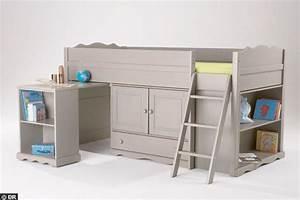 Lit Enfant Combiné : chambre d 39 enfant lit malin pour enfants coquins lits ~ Farleysfitness.com Idées de Décoration