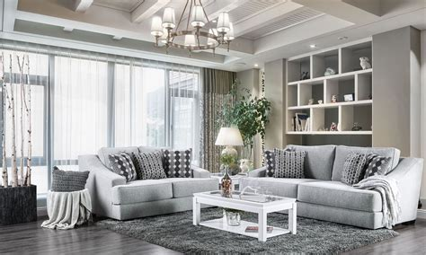 Light Grey Living Room Sets by Lesath Light Gray Living Room Set 1stopbedrooms