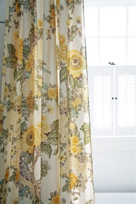 yellow floral drapes in the fields downstairs bathroom revisited again