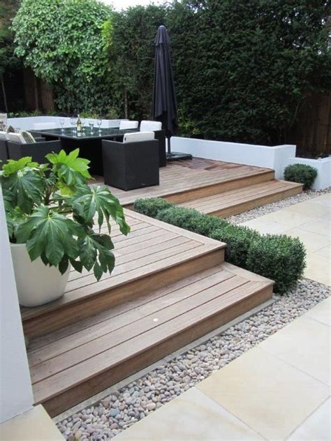 raised decking ideas for small gardens home dignity