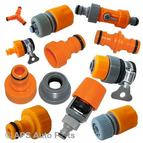 garden hose connectors selection tap adaptor adapter connector hose joiner