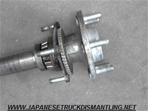 nissan xterra  rear axle shaft  road package