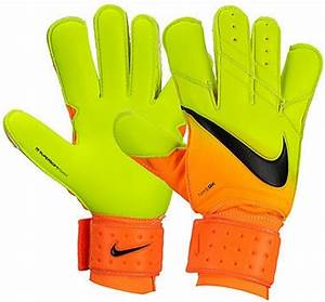 Nike Spyne Pro Soccer Goalkeeper Gloves Bright Citrus