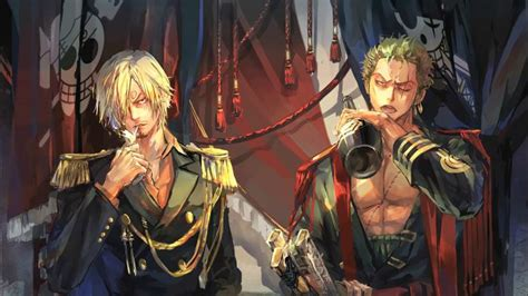 Sanji Vinsmoke,roronoa Zoro Hd Wallpaper Download
