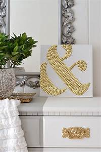 LiveLoveDIY: 10 DIY Art Ideas: Easy Ways to Decorate Your