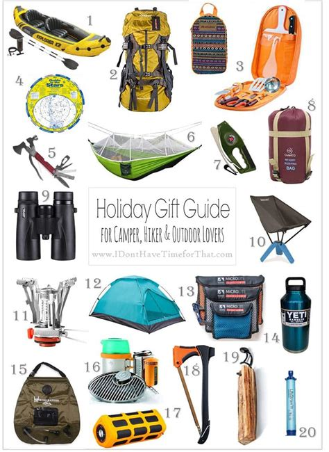 Holiday Gift Guide 20 Gifts For Outdoors Lovers  I Don't