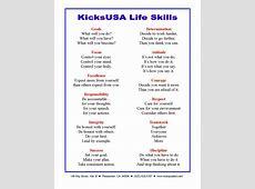 Life Skills and Martial Arts