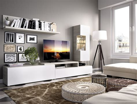 mueble comedor blanco  gris casaidecoracom