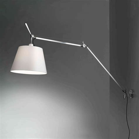artemide tolomeo mega wall light with dimmer 0778010a