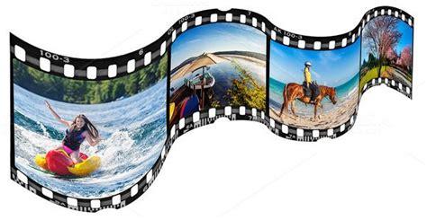 wavy film strip frame template  joannsnover  creative