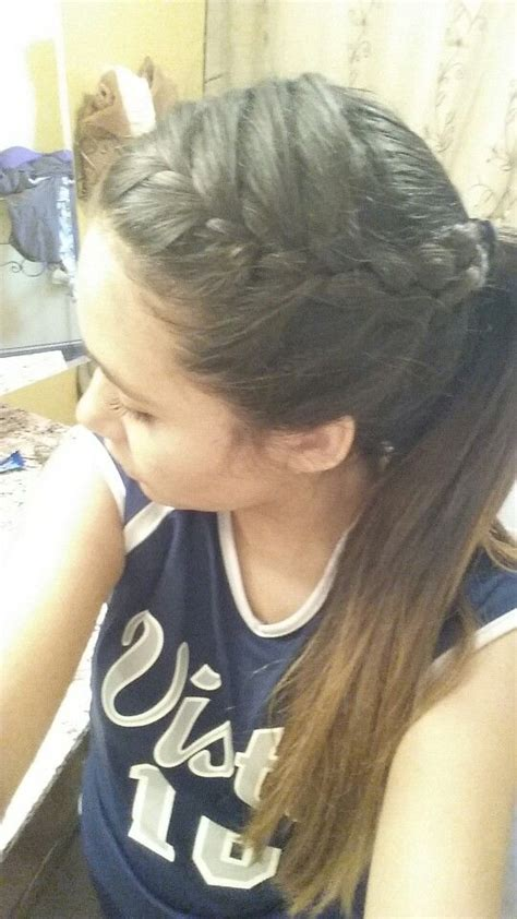 volleyball hairstyles repins in 2019 volleyball