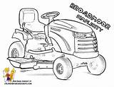 Coloring Tractor Lawn Broadmoor Simplicity Brawny Sheet 1056 816px 15kb sketch template