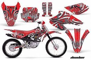 Honda Xr80  Xr100 Motocross Graphic Kits 2001