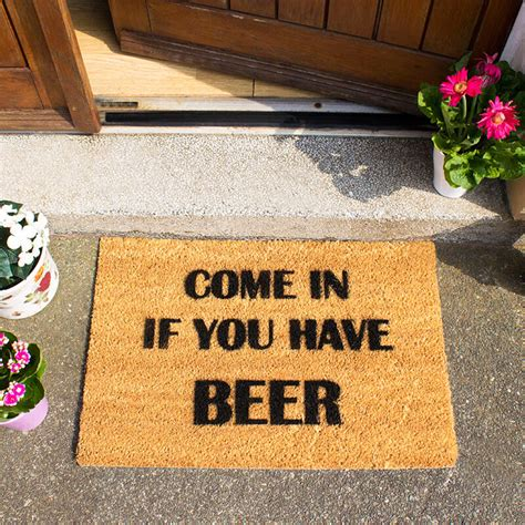 come in get out doormat come in if you doormat buy from prezzybox