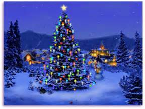 Moving Christmas Screensavers Free