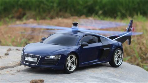 helicopter car audi