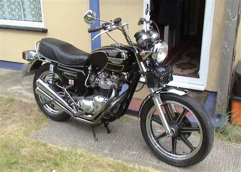1979 Triumph Bonneville T140d Classic Motorcycle Pictures