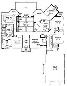 one level floor plans luxury on one level hwbdo14706 country cottage house plans house plan from