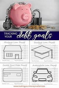 Debt Free Charts Tracking Your Debt Goals Debt Payoff Debt Tracker Debt