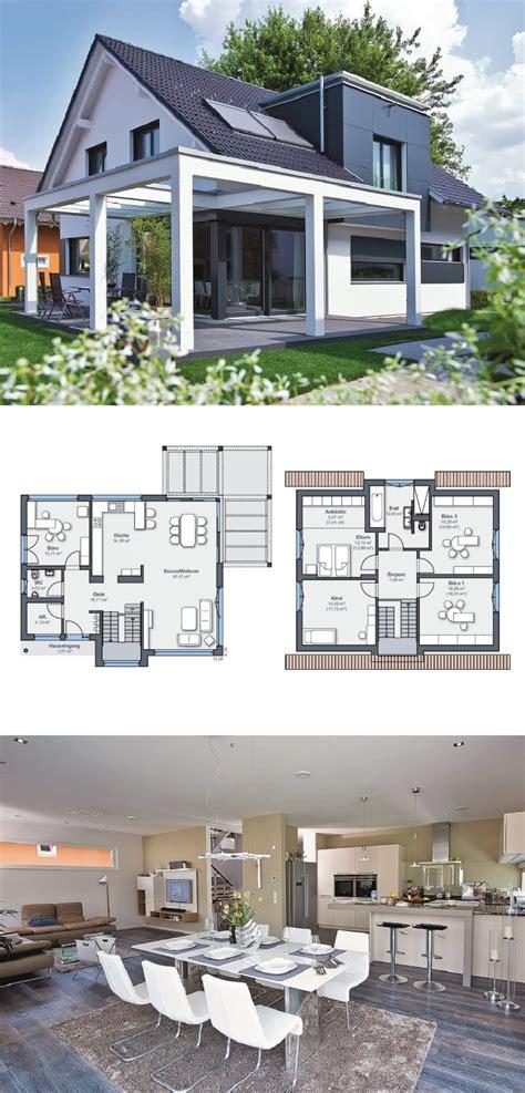 Moderne Architektur Häuser Kaufen by Einfamilienhaus Architektur Modern Mit Satteldach Und