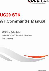 Quectel Uc20 Stk At Commands Manual V1 0