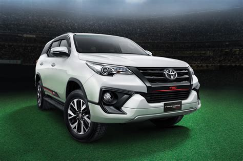 toyota fortuner trd sportivo launched  rs