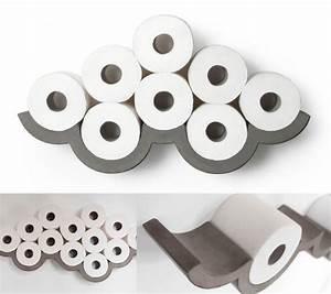 Rangement Papier Toilette Original : 22 id es de rangement pour votre papier toilette arangoslimo ~ Teatrodelosmanantiales.com Idées de Décoration