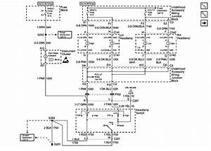 2001 Oldsmobile Bravada Headlight Diagram