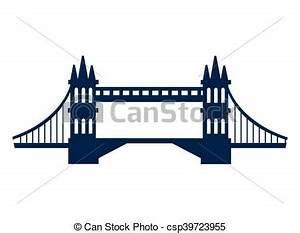 London Bridge Dessin : london bridge england design bridge london england landmark culture europe icon flat and ~ Dode.kayakingforconservation.com Idées de Décoration