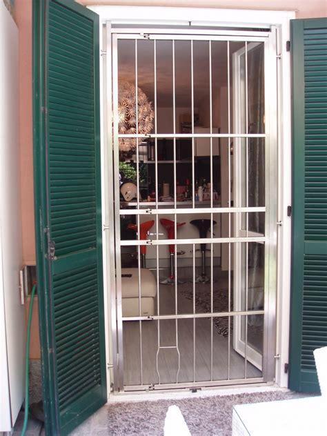 Inferriate Porte by Inferriate Grate Di Sicurezza Per Porte In Acciaio Inox