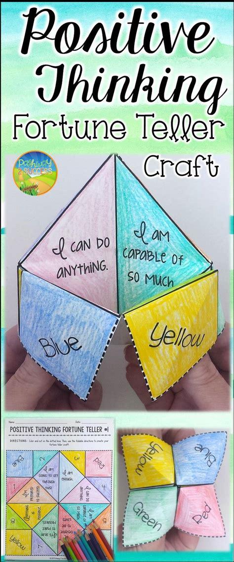 paper fortune teller craft  teach  practice
