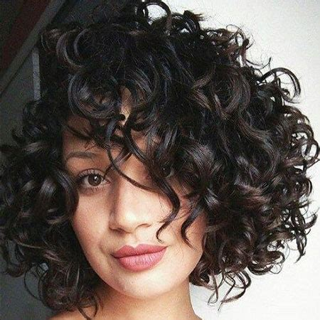20 short haircuts for thick curly hair