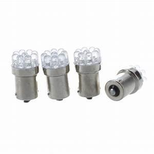 Ba15s Led 12v : 4 x 1156 lamp bulb ba15s p21w 9 leds 12v white for car ~ Kayakingforconservation.com Haus und Dekorationen
