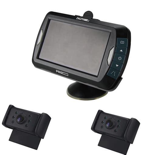 funk überwachungskamera mit monitor pro user drc4320 digitale funk r 252 ckfahrkamera mit 2