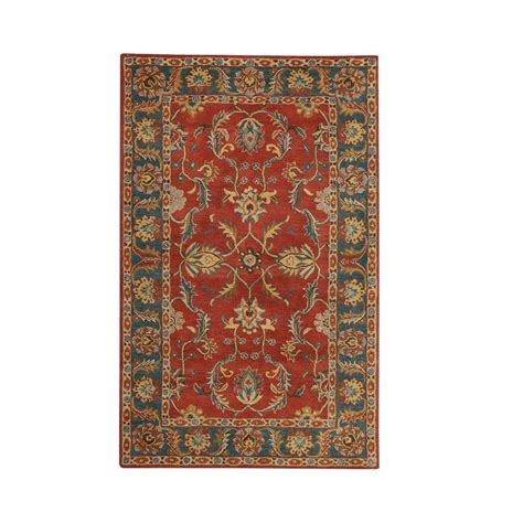 home decorators collection rugs home decorators collection aristocrat rust 9 ft x 12 42136