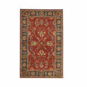 Home Decorators Collection Aristocrat Rust Red 9 ft. x 12 ...